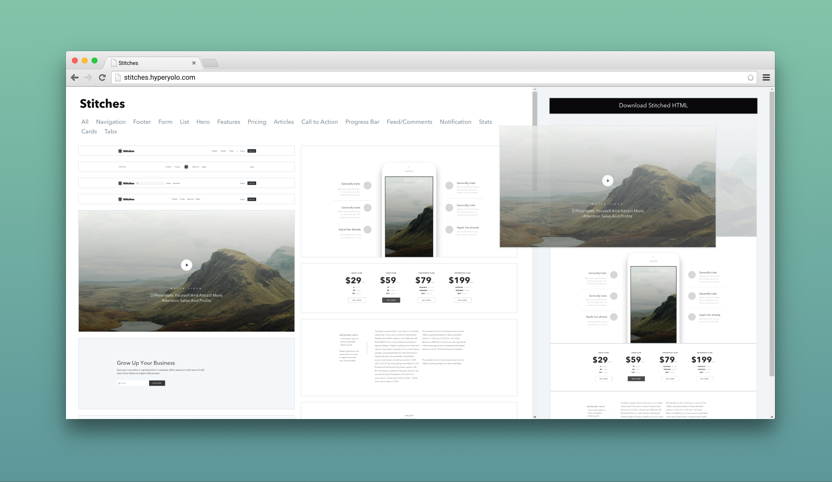 Building An Html Template Generator With Tailwind Css By Amie Chen Prototypr