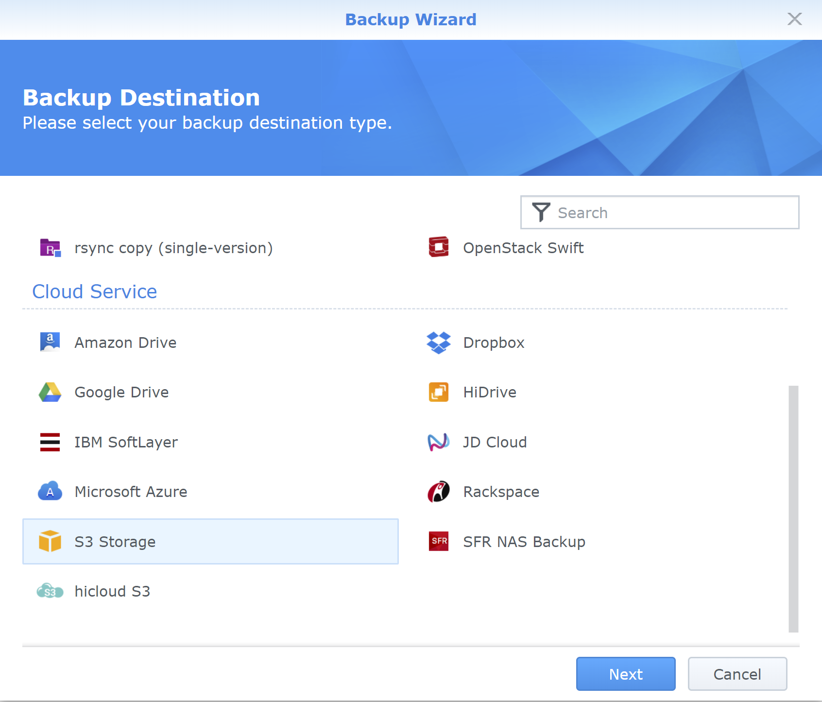 Backup files to Sia using Synology NAS & StoreWise
