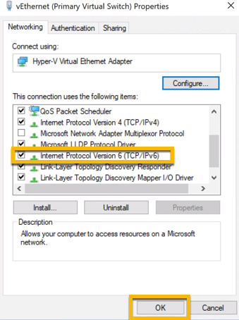 Disabling IPv6 on Network Adapter Windows 10 - Jock Reed