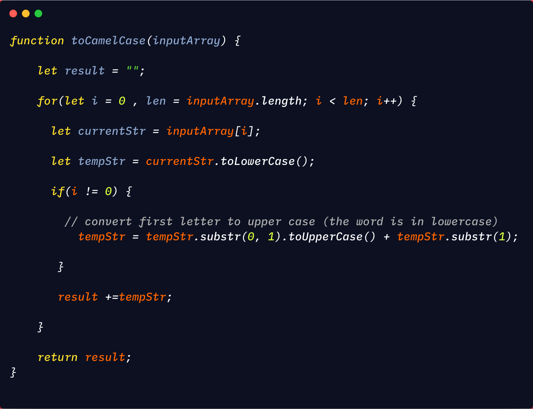 Convert Number To Letter.Converting A String To Camelcase In Javascript Level Up Coding