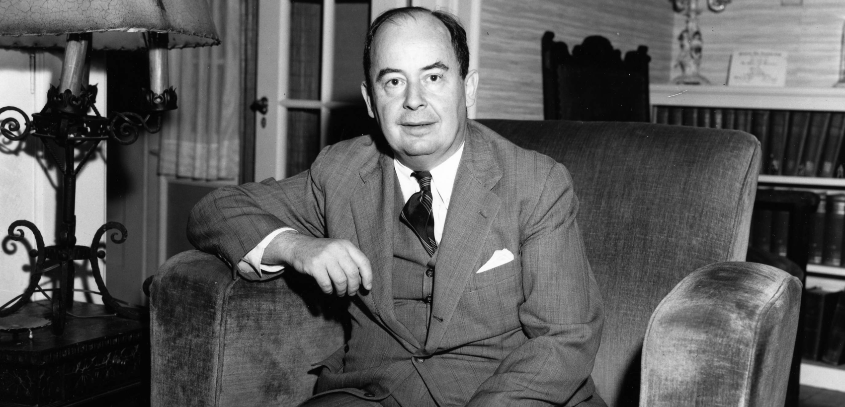 The Unparalleled Genius of John von Neumann - Cantor's Paradise ...