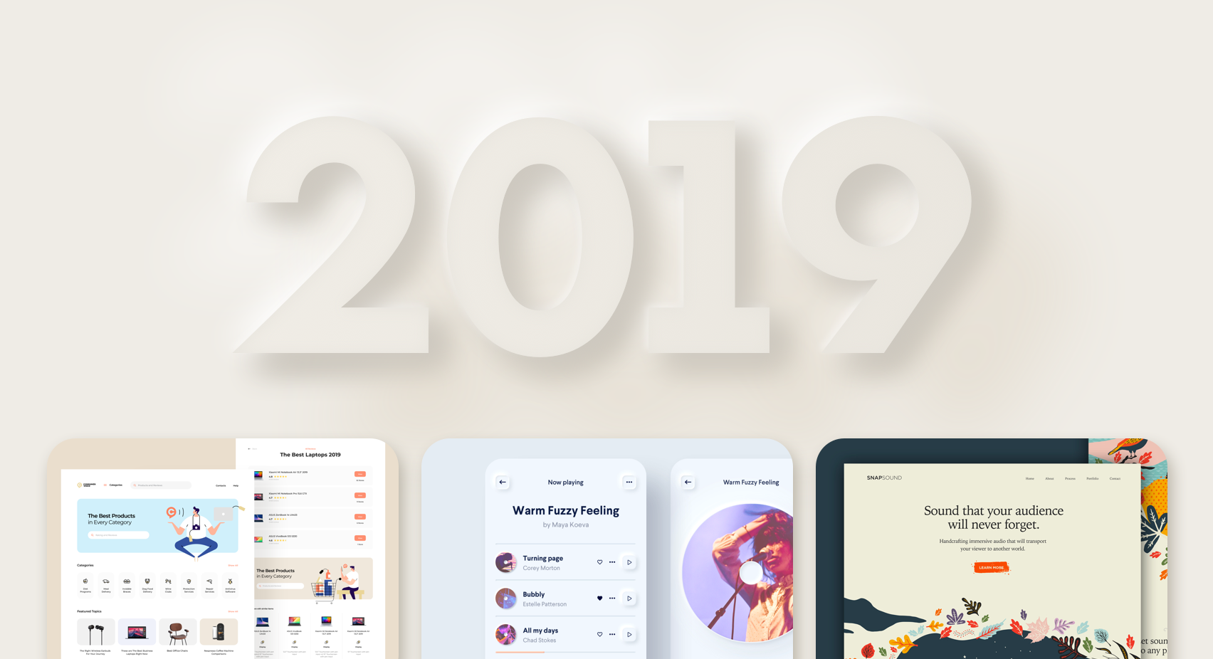 2019 Design In Review This Year S Big Scoop On Everything You By Christie Tang Ux Collective