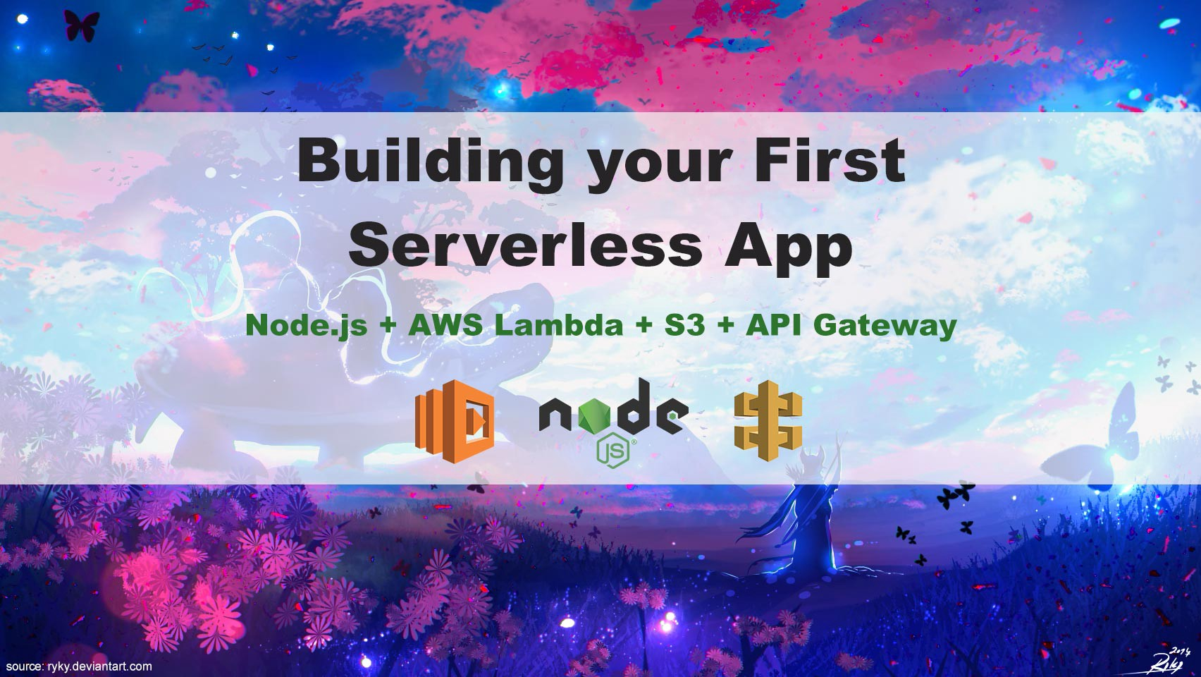 Building your First Serverless App in Node js with AWS