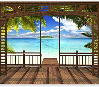 beach wall murial to decorate the walls of your home