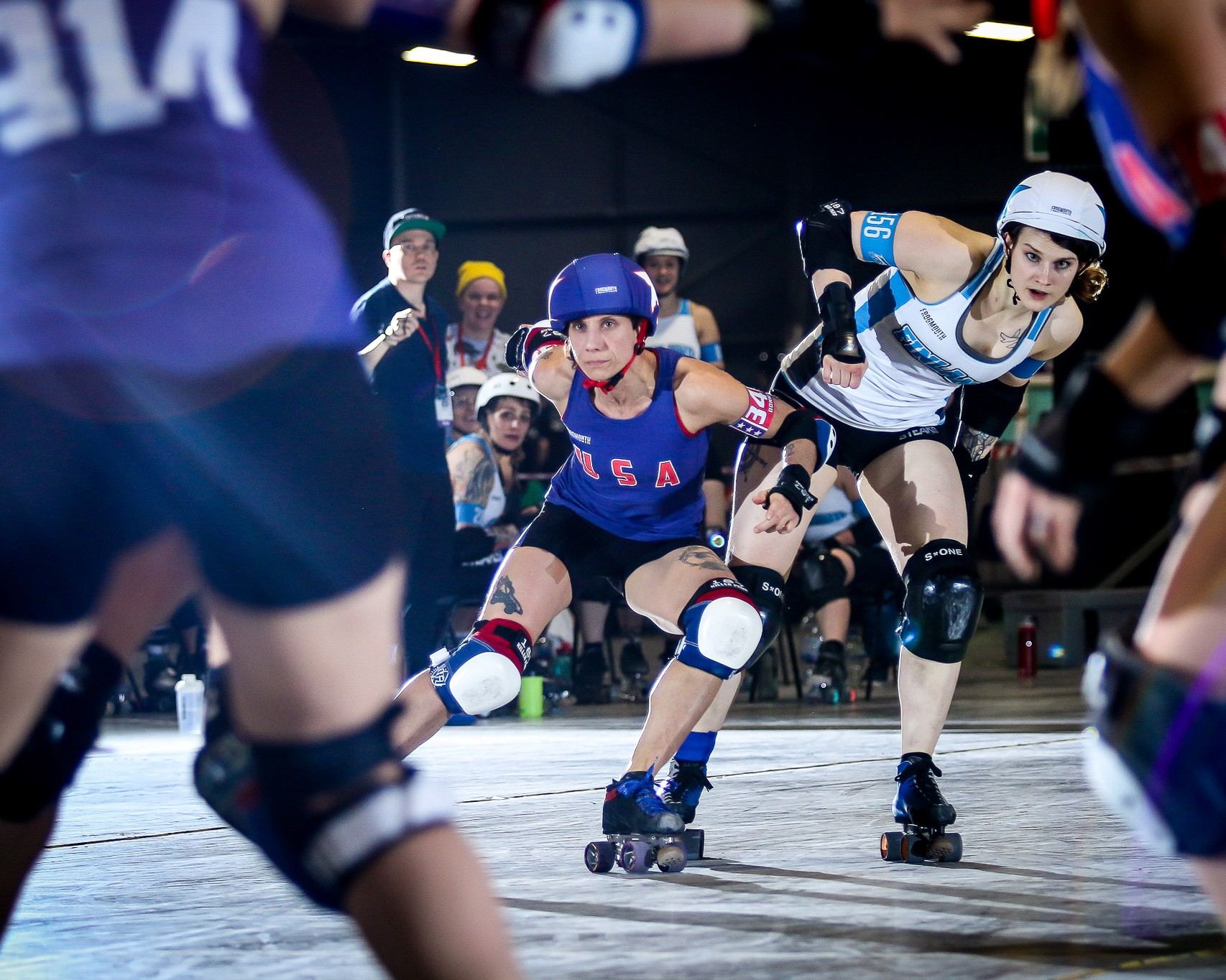 2018 Roller Derby World Cup Scores - Frogmouth - Medium