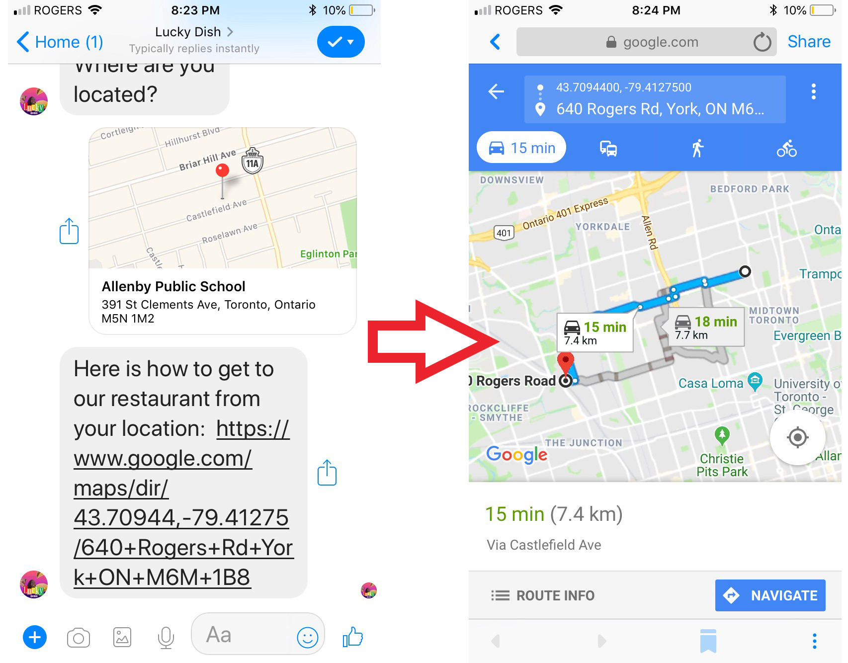 How Your Manychat Bot Can Use Ai To Reply With Directions To Your