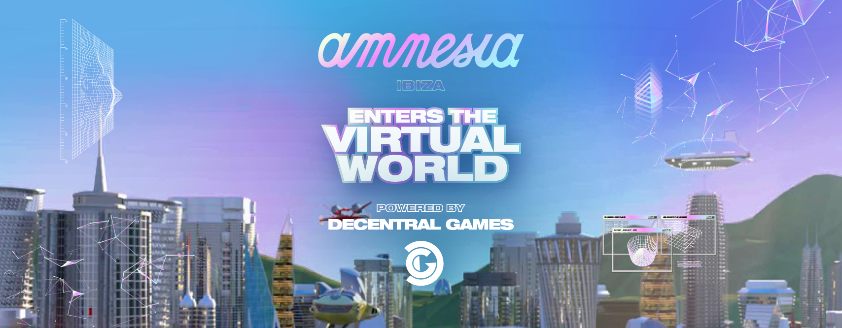 Decentral Games and Iconic brand Amnesia Ibiza bring clubbing to the  blockchain metaverse | by adamgdev | Decentral Games | Apr, 2021 | Medium