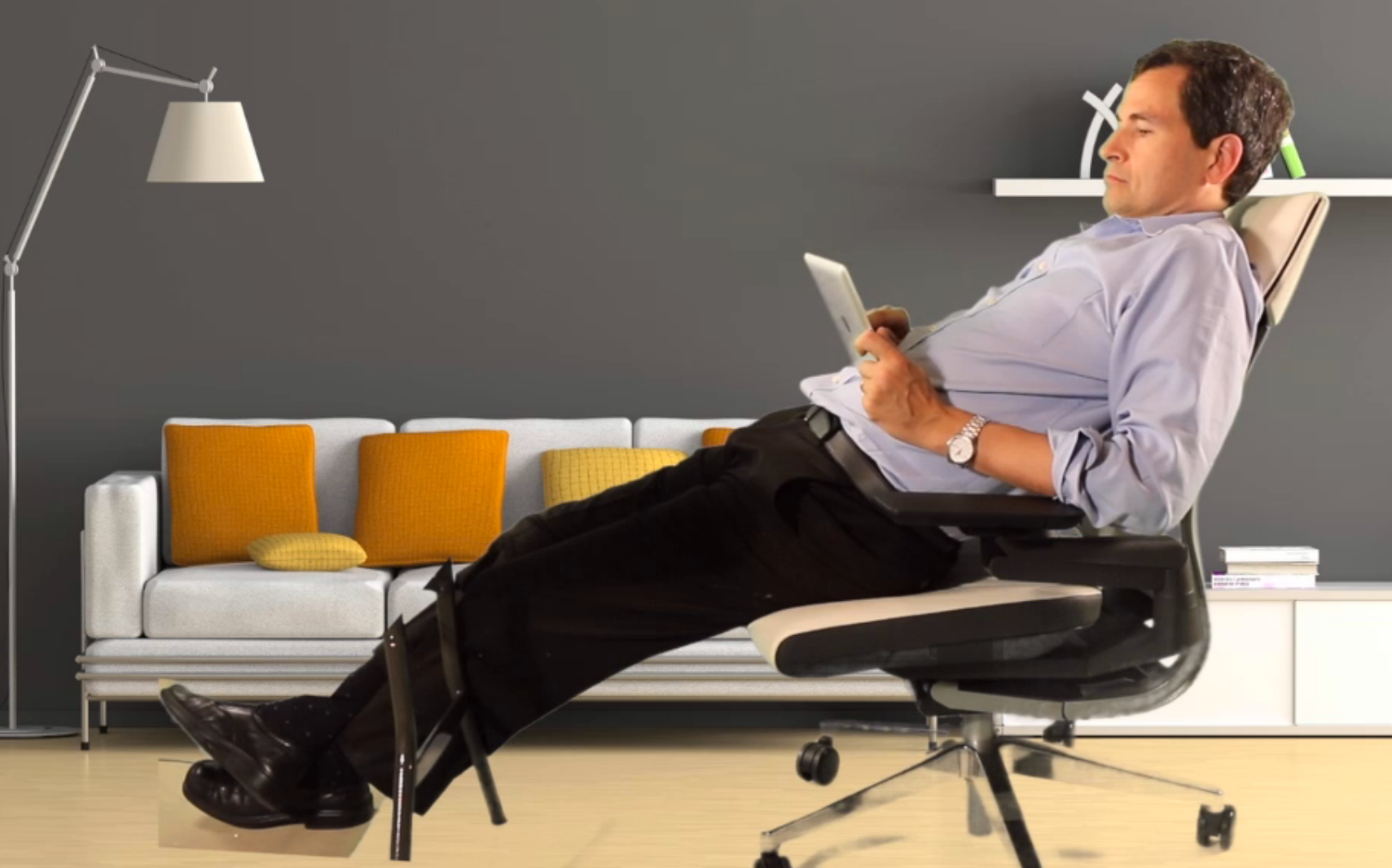 There is no 'right' way to sit