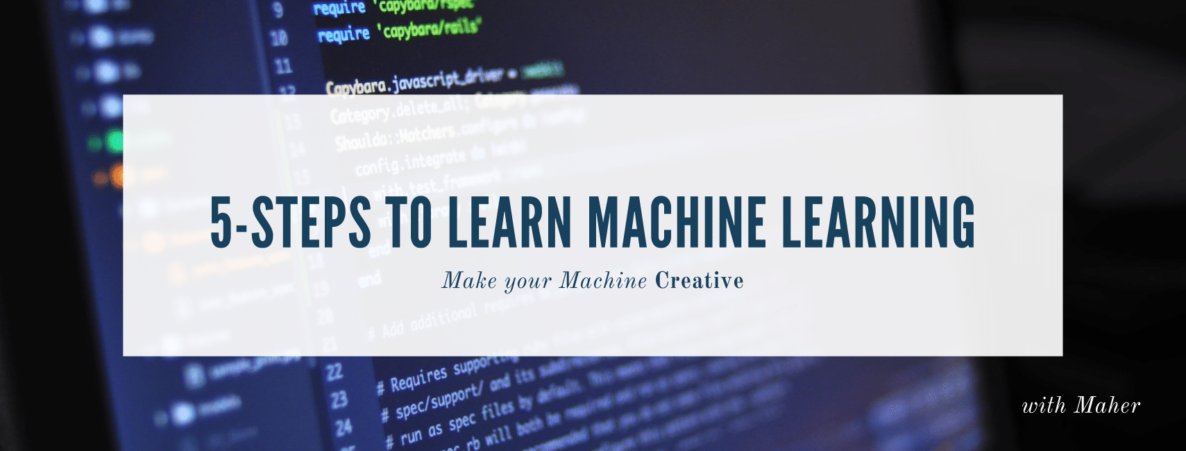 5-Steps and 10-Steps, to Learn Machine Learning  - Towards Data Science
