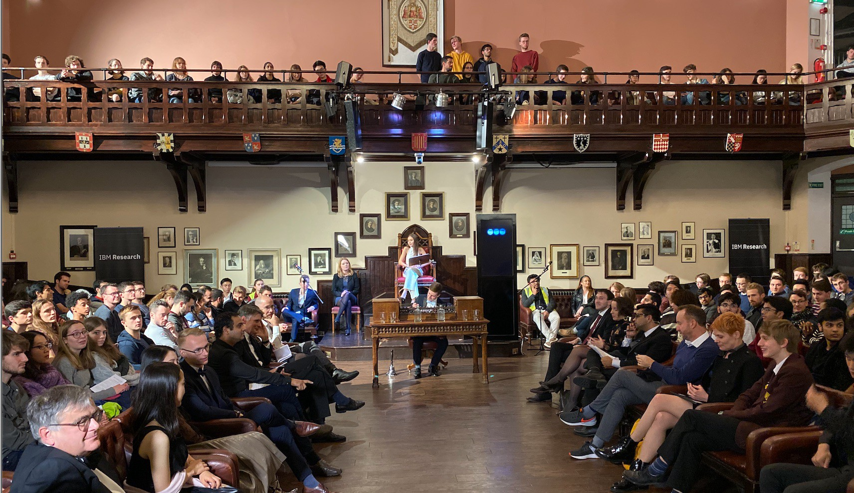 Project Debater at the Cambridge Union Society.
