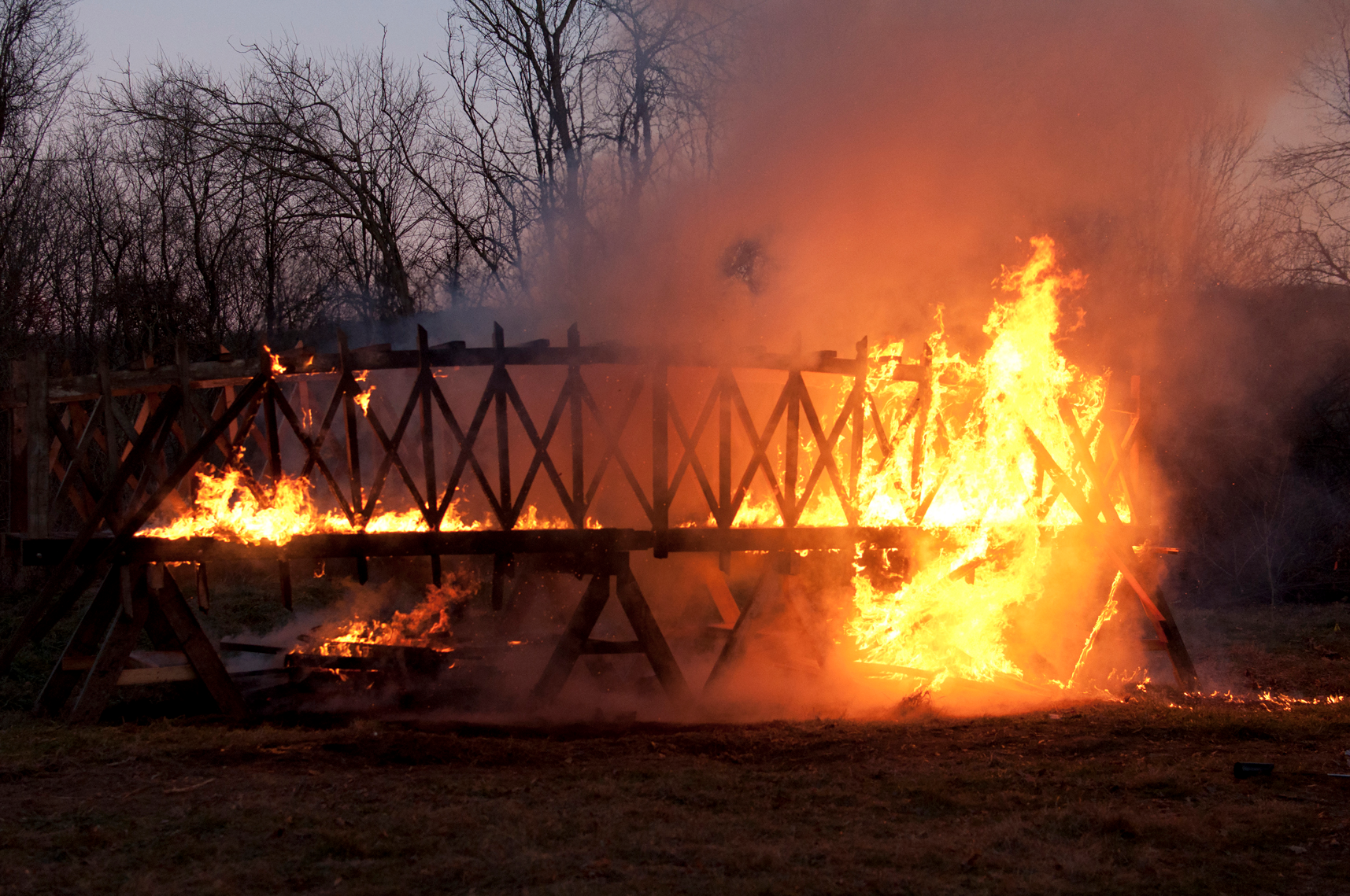 Image result for burning bridge pic