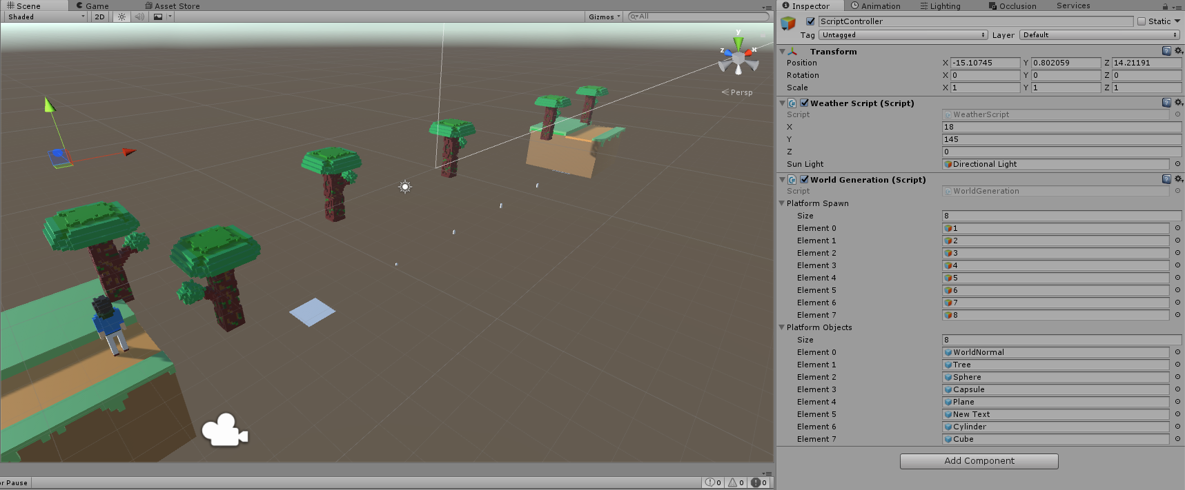 Celestial Sounds: 3D Modelling and Procedural Generation