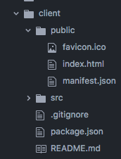 The Public Folder (and favicons!!) in create-react-app
