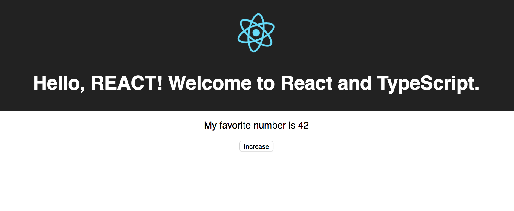 TypeScript and React using create-react-app: A step-by-step