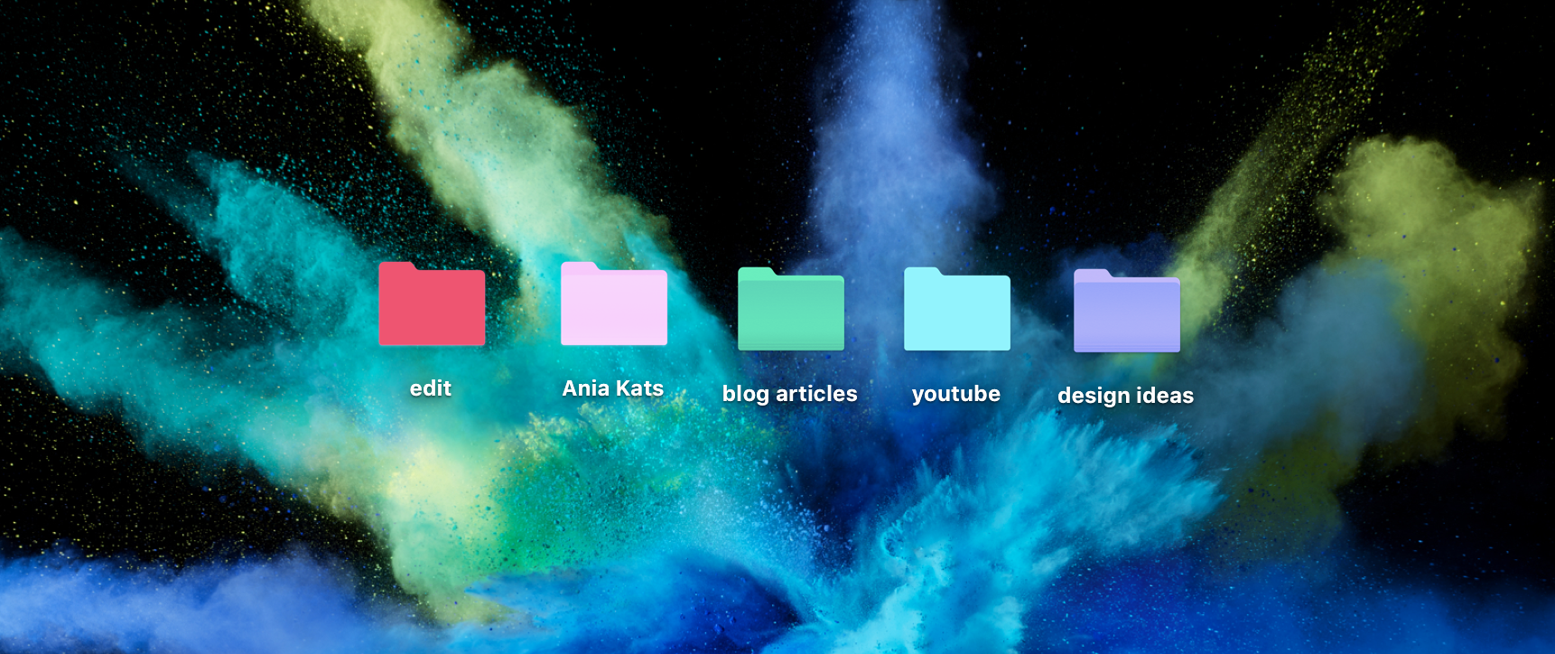 How To Change Folder Color On MacOS Sierra - Ania Klaudia