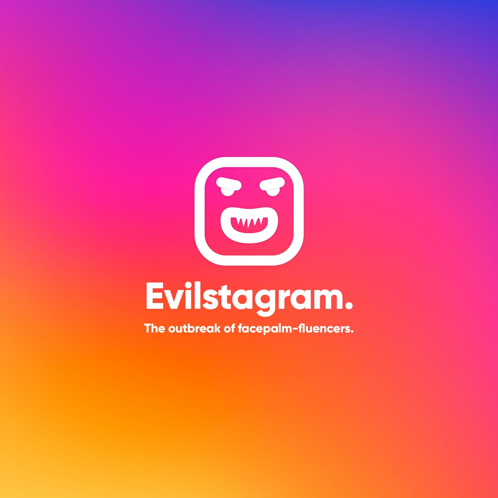 Evilstagram — instagram's bad side