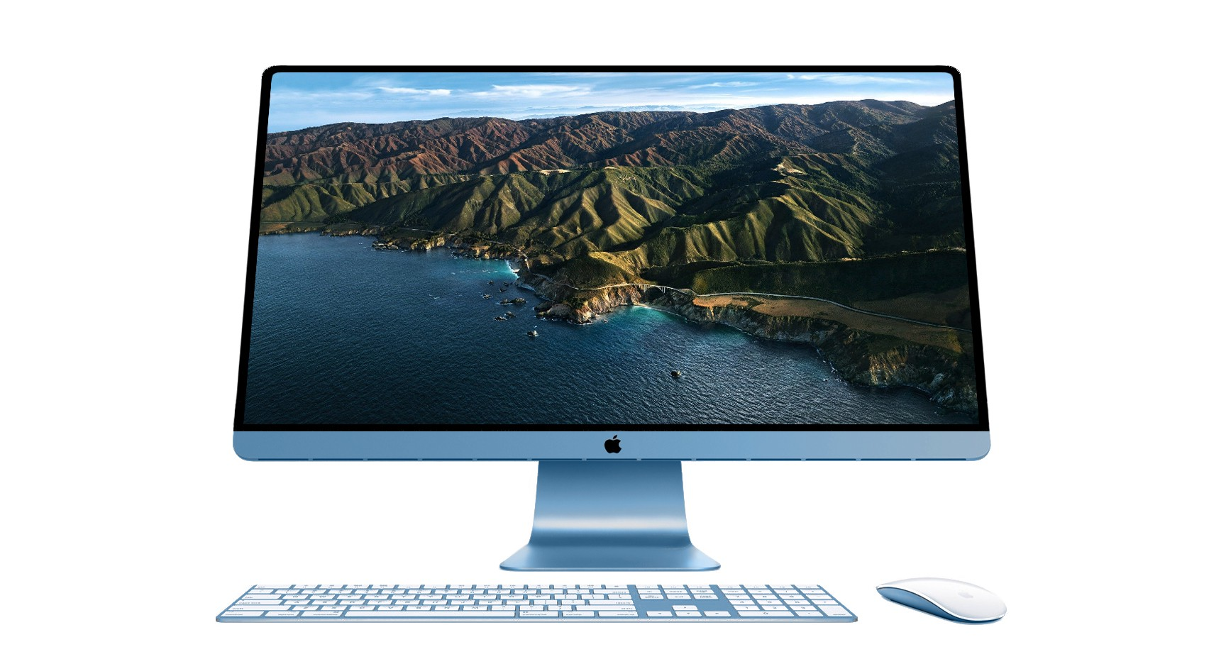 Concept for Apple silicon iMac