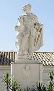 Statue of Martin Alonso Pinzon in Palos de Frontera, Spain — Source: Google Images