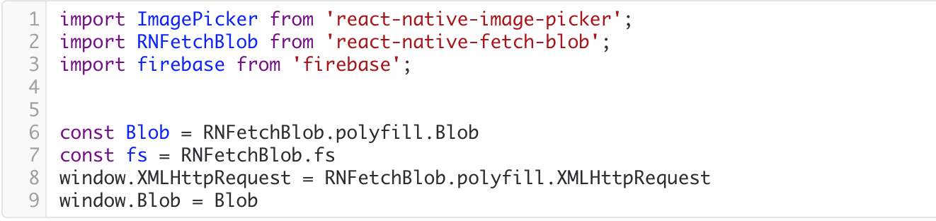 React Native and The Infamous Blob: Uploading Images to Firebase