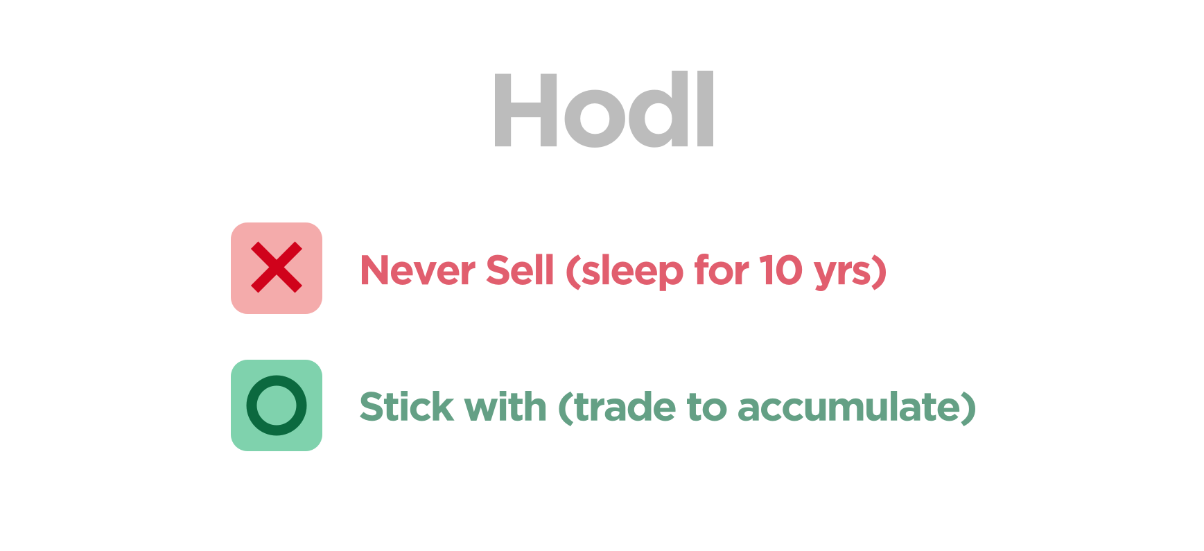 My golden picks to HODL until Q3 2018 and here is why