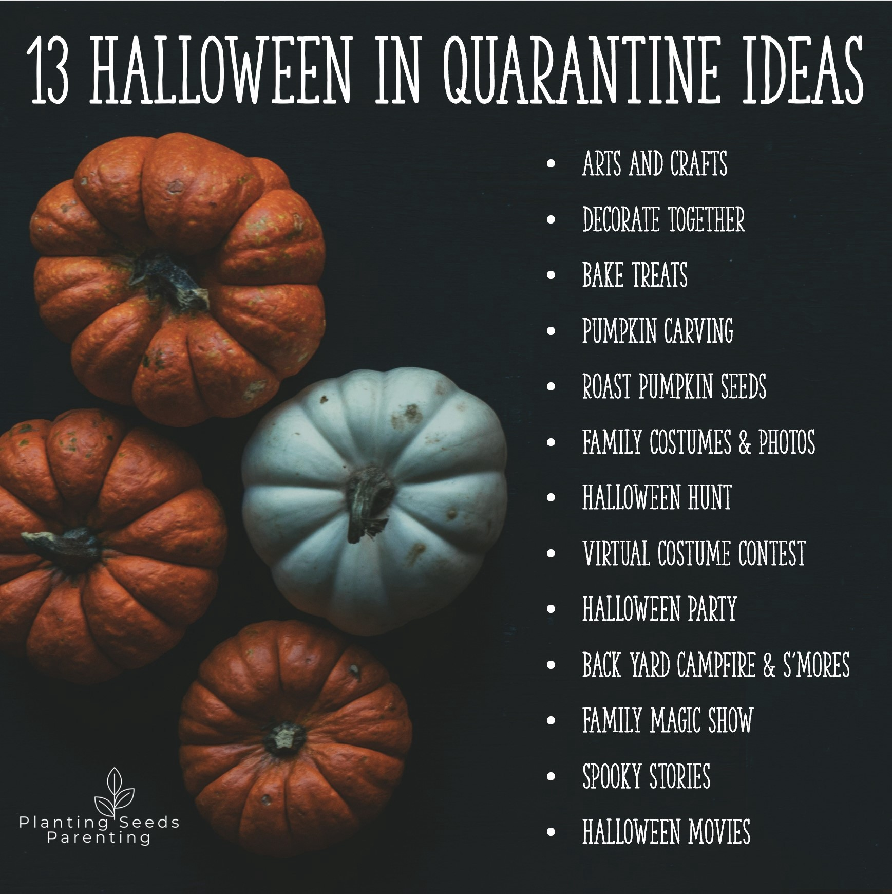 2020 Halloween Parents Guide A Parent's Guide to Halloween in Quarantine | by Planting Seeds
