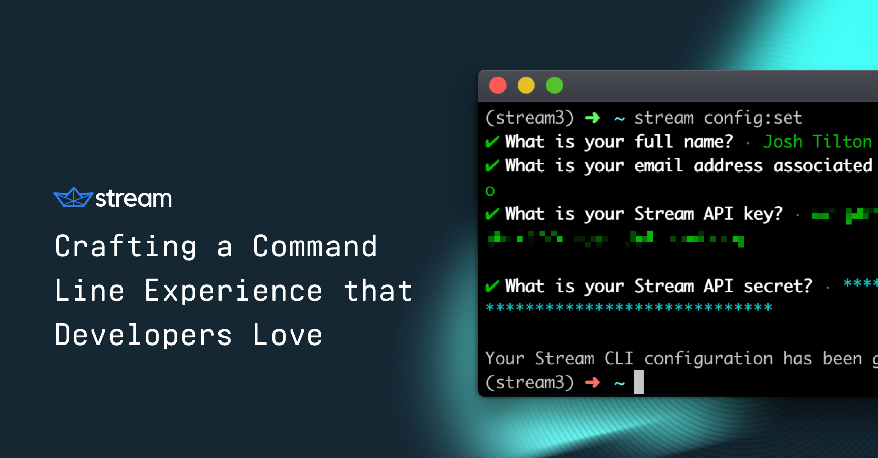 Crafting a Command Line Experience that Developers Love