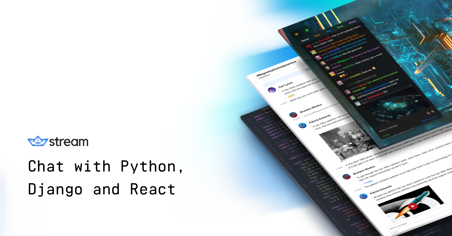 Python Chat Tutorial with Django and React - Nick Parsons