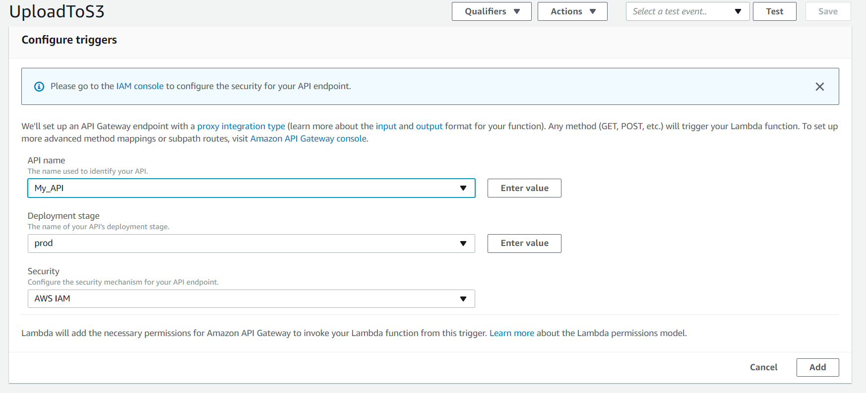 Image Upload and Retrieval from S3 Using AWS API Gateway and