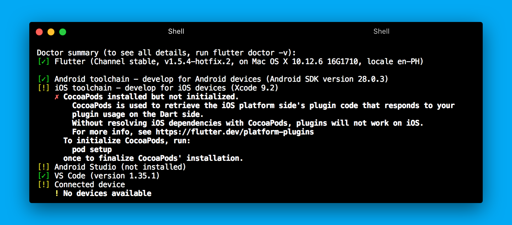 How to install android-sdk for Flutter without Android Studio — on Mac | by  Kyru Cabading | Medium