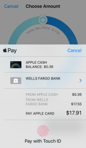 screenshot of Apple Card payments on your iPhone