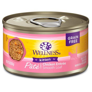 Wellness Complete Health Kitten foods Chicken Entree Pate
