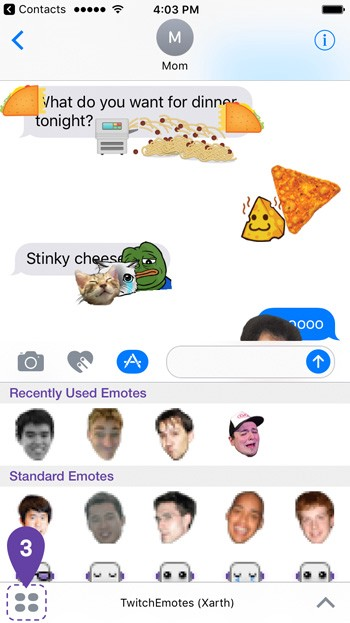 Twitch stickers are invading iOS - Twitch Blog