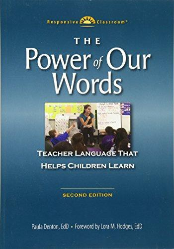 Pdf Download The Power Of Our Words Teacher Language That