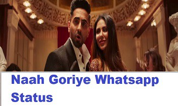 Naah Goriye Whatsapp Status Video Download Lyrics