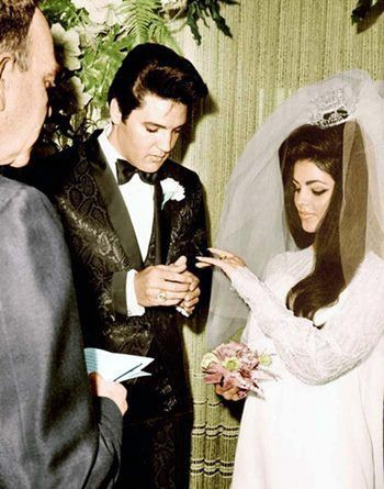 Young And Beautiful Elvis Presley Marries Priscilla Beaulieu By Kathy Copeland Padden Medium