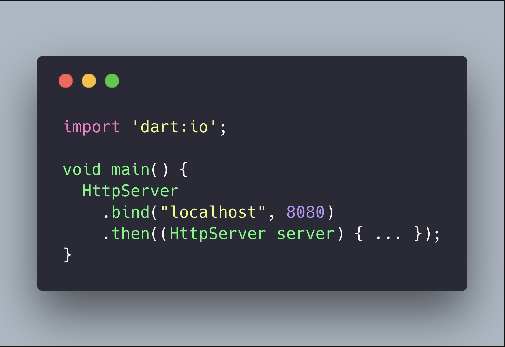 Quick Tip: Write an HTTP server in Dart 💻 - codeburst