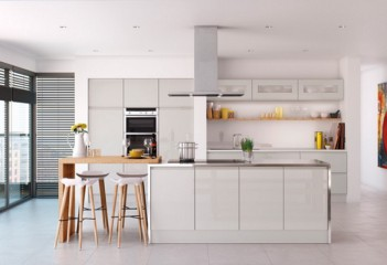 The Aesthetics And Style Of Selecting The Perfect Color For Kitchen Cabinets By Richard Devine Medium