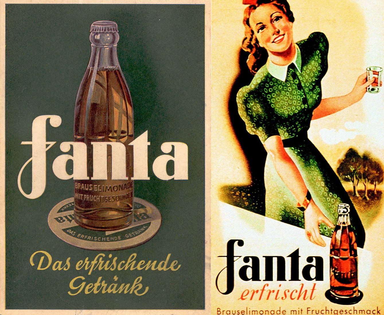 Coca-Cola collaborated with the Nazis in the 1930s, and Fanta is the
