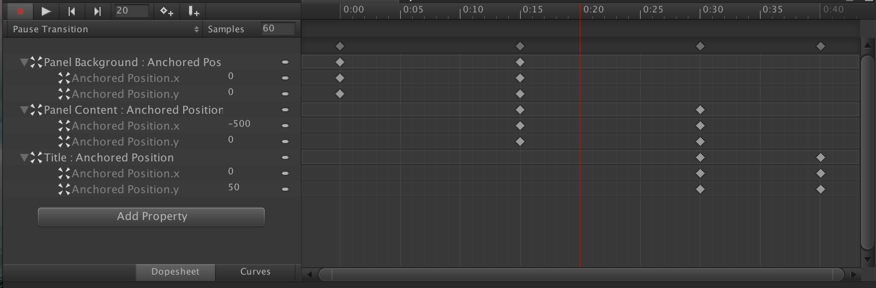 Unity3D Animated Pause Menu, Part 2: Animating the UI elements