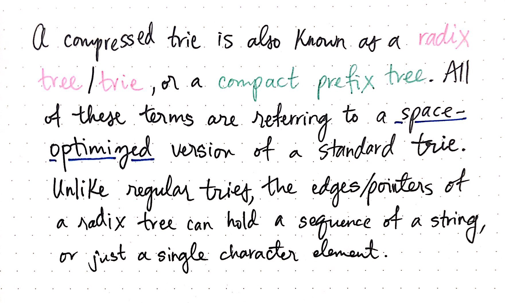 Compressing Radix Trees Without (Too Many) Tears - basecs