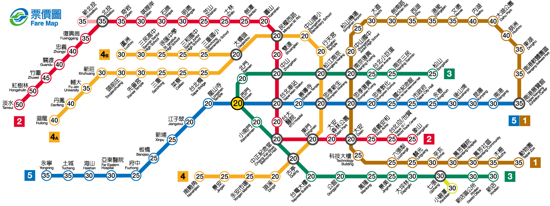 Subway Map Taipei.How To Let Foreigners Buy Single Journey Metro Ticket Much Easier