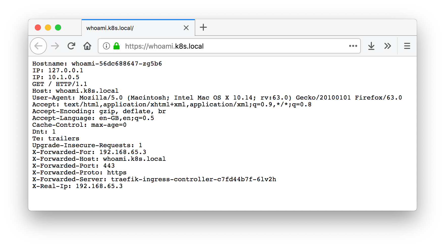 Kubernetes & Traefik locally with a wildcard certificate