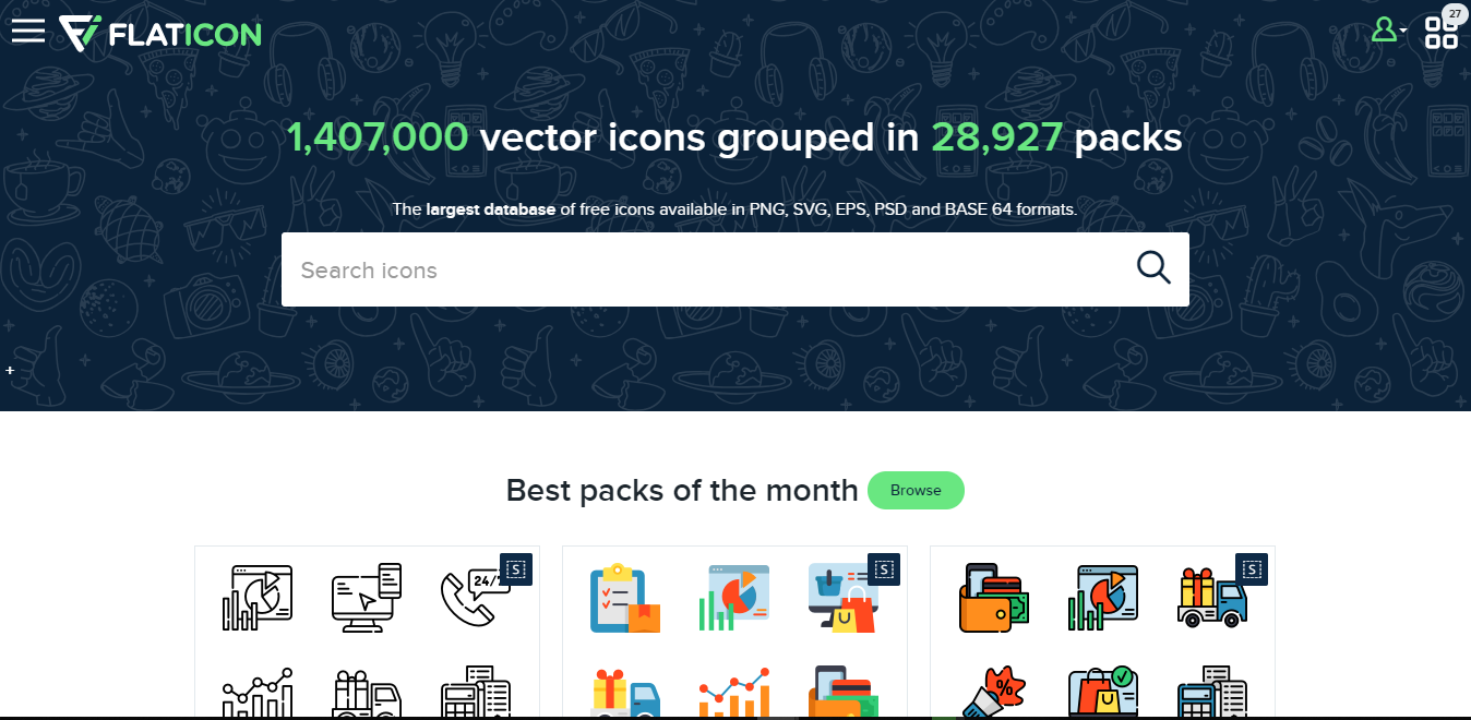 How To Download And Use Flaticons - Temitope Michael Olaitan - Medium