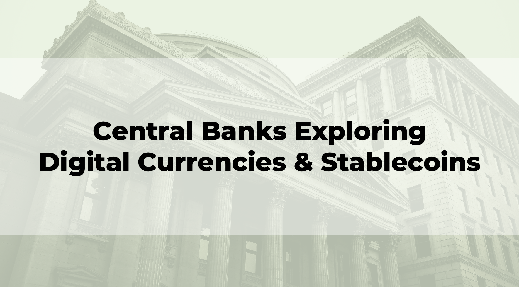 central bank crypto currency exchanges