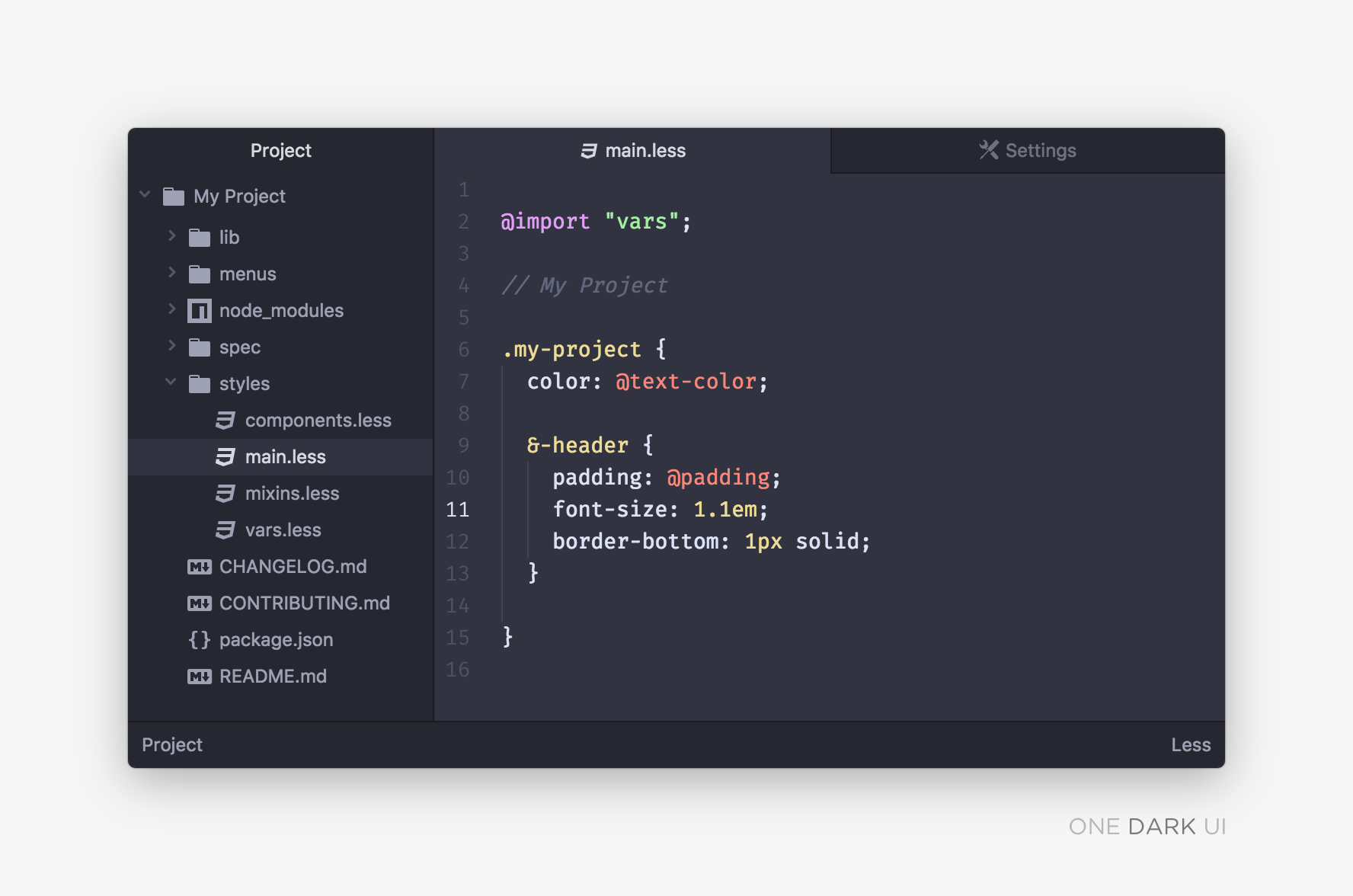One Dark theme and Fira Code font for IDEs - Fantageek - Medium