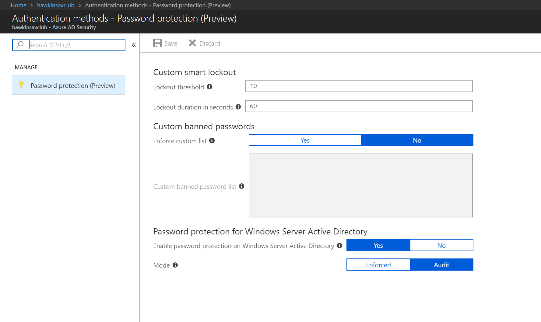 Secure Teams and Office 365 login using AzureAD Password