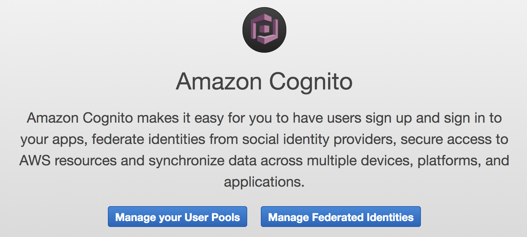The Difference Between AWS Cognito UserPools and Federated