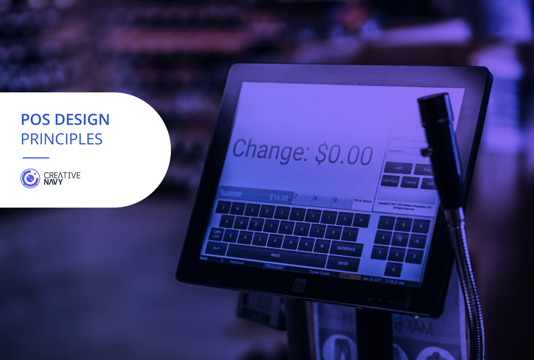The Design Principles In The Pos System Pos Design Guide Part 2 By Creative Navy Uxjournal Medium