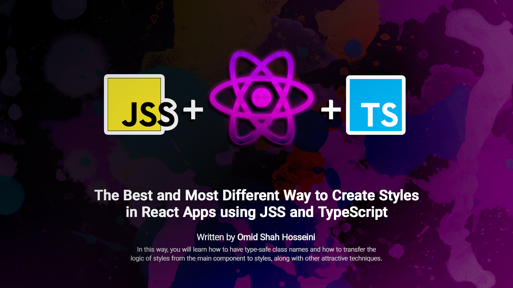 The Best and Most Different Way to Create Styles in React Apps using JSS and TypeScript