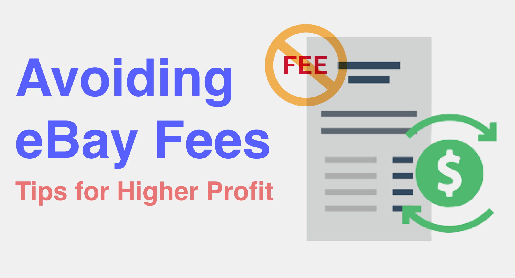 How Much Are Ebay Fees >> Avoiding Ebay Fees Tips For Higher Profit Sizely Medium